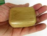 Dřevěná šperkovnice zaoblená, dubová