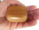 Dřevěná krabička (šperkovnice) višeň - zaoblená