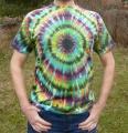 Batikované triko duhové Imagination, XL