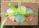 Dárková krabička - 6ks plovoucích svíček Srdce