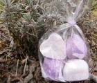Levandule - vonný vosk - dárkový balíček