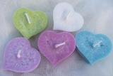 Plovoucí svíčky Srdce 5ks