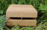 Dřevěná šperkovnice hranatá, Dub