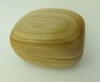 Dřevěná krabička (šperkovnice) třešeň - oblá