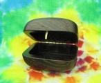 Dřevěná krabička wenge - oblá