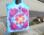 Látková nákupní taška Hvězda, batika