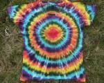 Dámské batikované tričko Spektrum, L