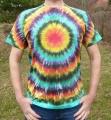 Batikované tričko duhové Spektrum