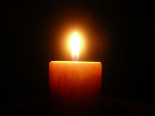 Plamen svíčky