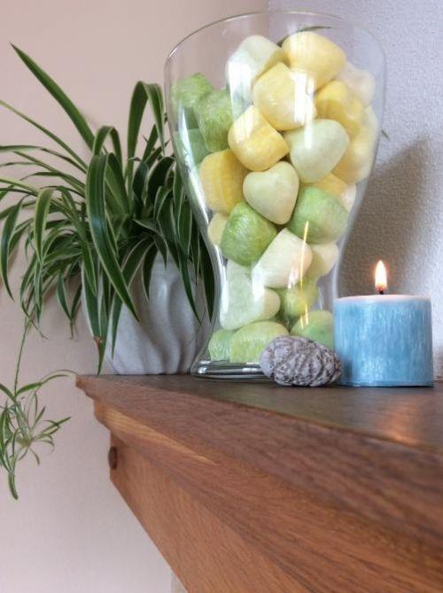 Vonný vosk aromaterapie