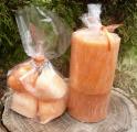 vonné vosky a svíčka - Mandarinka