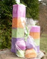 Dárkový balíček - palmové svíčky a vosky