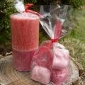 Vonné svíčky - jahody