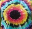 Dámské batikované tričko Iris, L detail