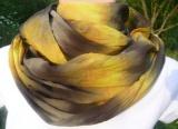 Batikovaný šátek tunel na krk Příroda