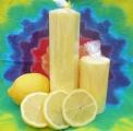 Citronové svíčky vonné
