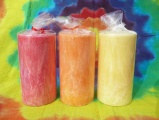 Svíčky ovocné-jahoda,mandarinka,citron
