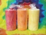 Svíčky ovocné . jahoda,mandarinka,citron