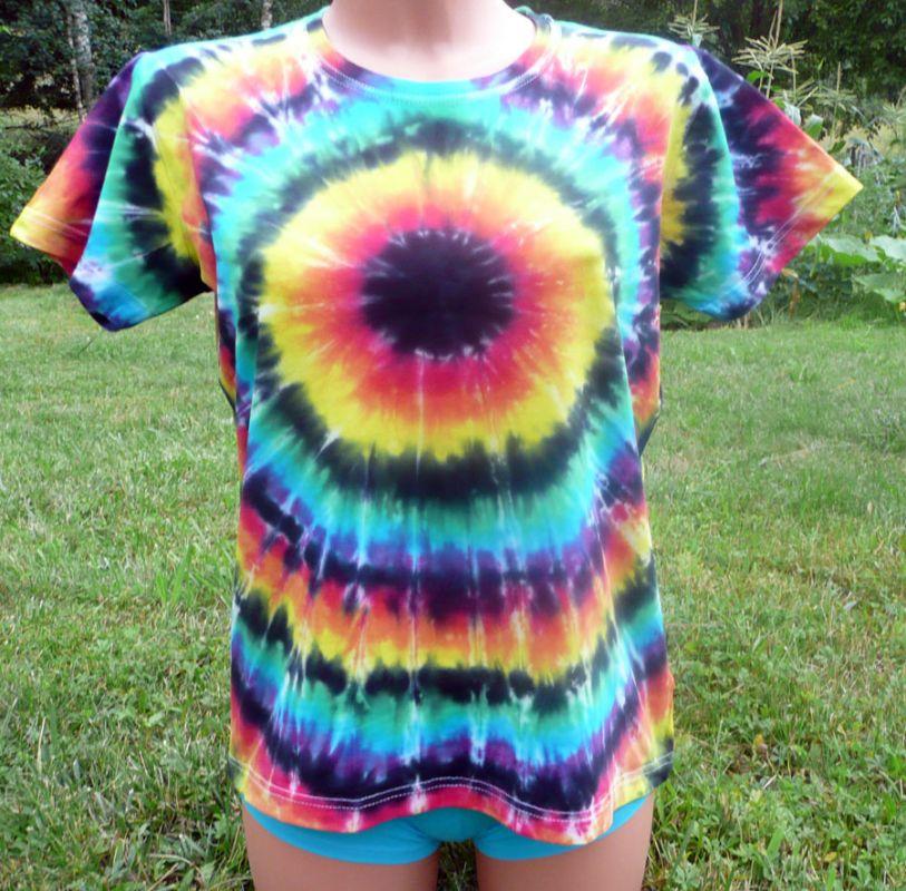 Dámské batikované tričko Iris, XL