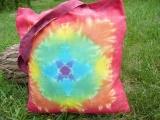 Batikovaná taška Mandala