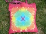 Látková nákupní taška Mandala Šťastní lidé