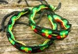 Náramek přátelství pletený Rasta Andes Arte