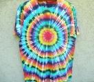 Duhové tričko xxl