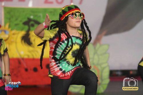 Tanečníci jamajské tance