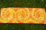 Ubrus - běhoun - Zářivě žlutá - 40x120 Šťastní lidé-M