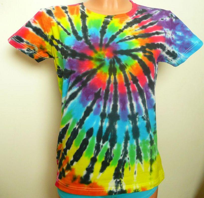 Dámské batikované tričko Rebelka