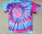 Dětské tričko Růžové srdíčko, XS Šťastní lidé-M