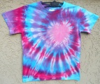 Dětské tričko Růžové srdíčko, XS