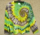 Batikované tričko Lesní