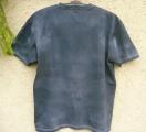Batikované tričko Mandala v černé, XXL Šťastní lidé-V