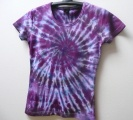 Dámské batikované tričko Ametyst, L
