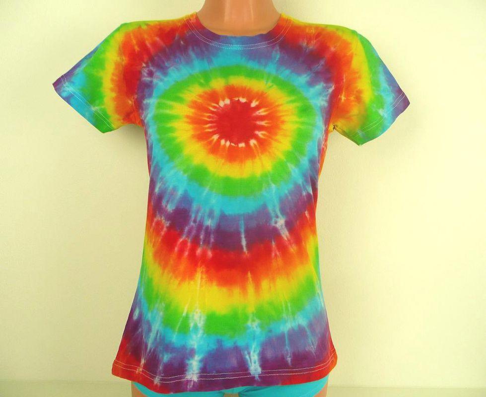 Dámské tričko Duhovka