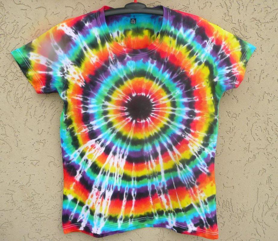 Batikované tričko Iris