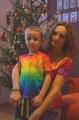 Ivuška a její duhové Vánoce...