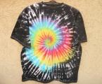 Batikované tričko Zrození duhy, XXL Šťastní lidé-M