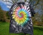Batikované tričko Zrození rebela, XXL