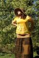 Šárka v tričku Slunce