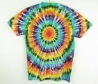 Batikované tričko Spektrum XL zezadu