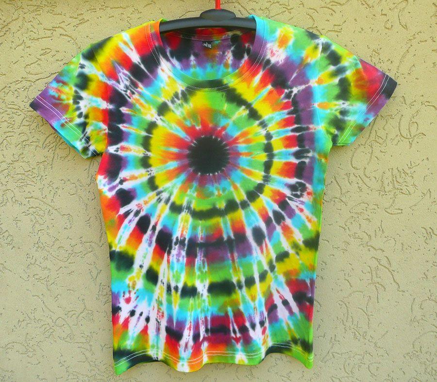 Dámské batikované tričko Imagination L