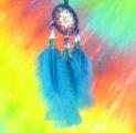 Lapač snů - modrý (malý)