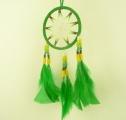Lapač snů - zelený (střední) Andes Arte