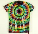 Dámské batikované tričko Imagination M