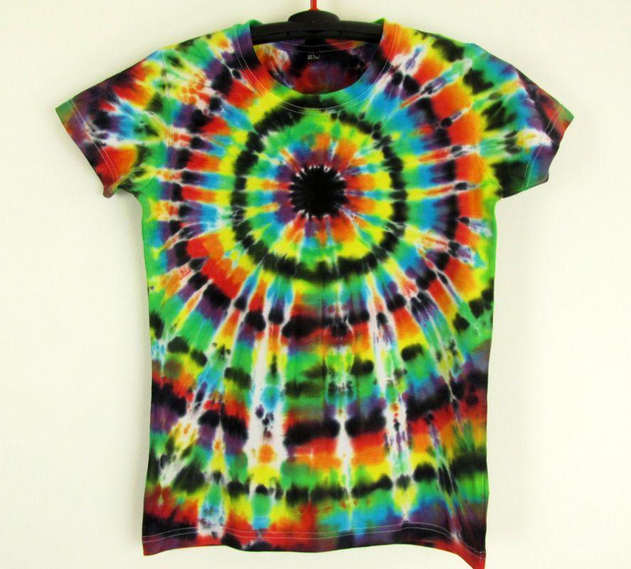 294986a72142 Dámské batikované tričko Imagination M Šťastní lidé-V