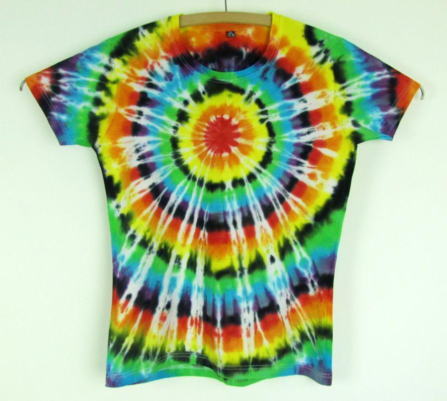 Dámské batikované tričko Spektrum XXL