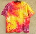 Batikované tričko Ohnivé, XXL