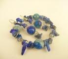 Náramek Lapis lazuli achát